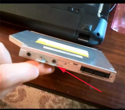 Как просто заменить дисковод на ноутбуке