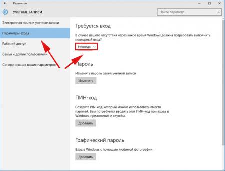 Как новичку убрать пароль Windows 10