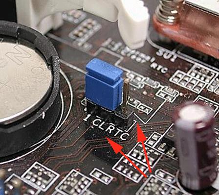 Как сбросить BIOS перемычкой на плате