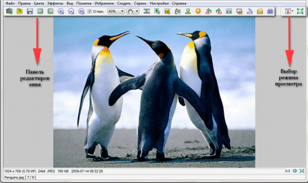 Обзор FastStone Image Viewer редактор картинок 4