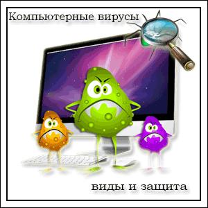 Компьютерные вирусы: виды и защита