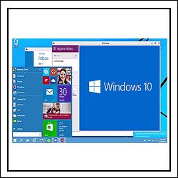 Добираемся до рабочего стола Windows 10