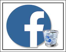 Как удалить личную учетную запись Facebook