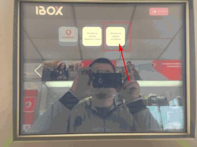 Как пополнить телефон в терминале Vodafone