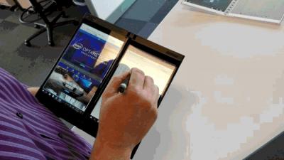 Как Intel разрабатывает прототипы будущего компьютера с двумя дисплеями