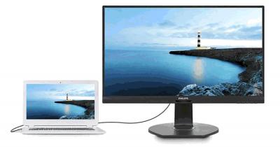 Philips мониторы с изогнутым дисплеем и USB-C