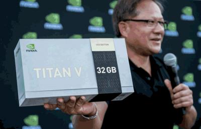 Графические процессоры Nvidia Titan V CEO Edition, выданные в CVPR