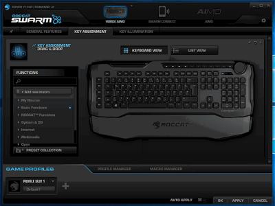 Обзор: игровой клавиатуры Roccat Horde Aimo