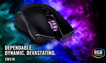Cooler Master CM 310 - это «игровая мышь для всех»
