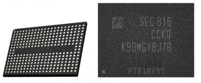Samsung запустил выпуск чипов V-NAND 5-го поколения