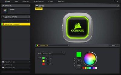 Corsair Hydro Series H100i Pro RGB - жидкостное охлаждение