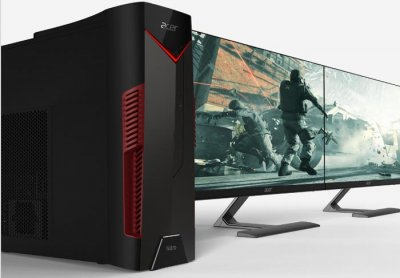 Acer представляет игровой MicroTower с AMD Ryzen 5 2500X