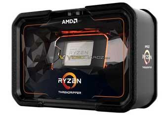 Поразительная упаковка AMD Ryzen Threadripper 2000