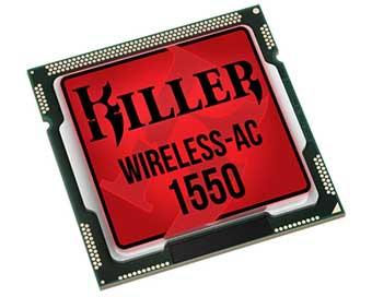 Обзор: Killer Wireless-AC 1550 wi-fi адаптера