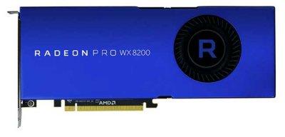 AMD предоставил Radeon Pro WX 8200