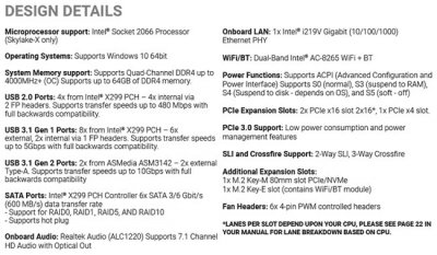 EVGA выпустила X299 Micro ATX 2