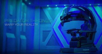 Игровое кресло Acer Predator Thronos переигрывает ПК
