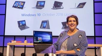 Обновление Windows 10 объявленное как октябрь 2018