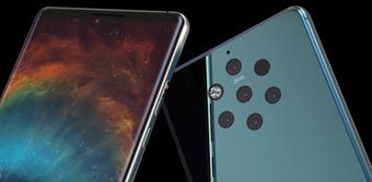 Флэш-смартфон Nokia 9 с пента-объективом отложен до 2019 года