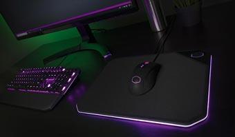 Двухсторонний RGB коврик Cooler Master MP860