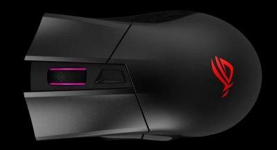 Asus выпустил беспроводную мышь для игр ROG Gladius II