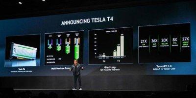 Nvidia анонсирует платформу TensorRT Hyperscale в GTC Japan