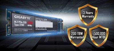 Gigabyte выпускает NVMe PCIe M.2 SSD