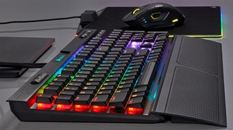 Corsair выпустил низкопрофильные клавиатуры K70 RGB MK.2