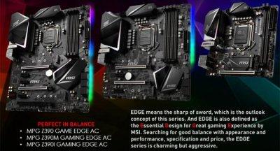 MSI выпускает линейку материнских плат Intel Z390
