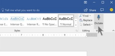 Microsoft готовит голосовую диктовку для Word и OneNote Online