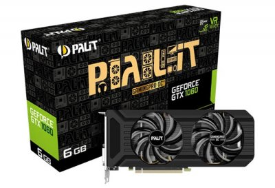 Gigabyte и Palit показали карты GDDR 1060 на базе GDDR5X