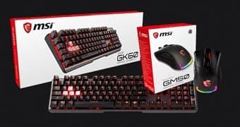 MSI выпускает игровую мышь CLUTCH GM50 и клавиатуру VIGOR GK60