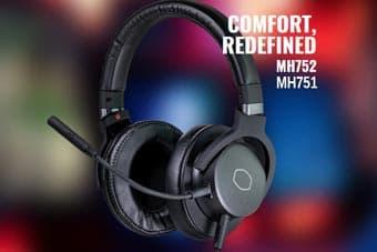 Cooler Master выпускает гарнитуры для игр MH751 и MH752