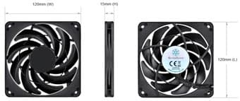 SilverStone анонсирует 120-миллиметровые вентиляторы FN124