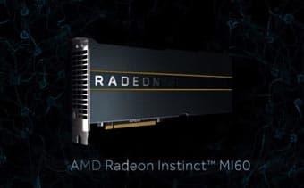 Ускорители графики AMD Radeon Instinct MI50, MI60