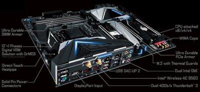 Gigabyte выпускает материнскую плату Z390 Designare