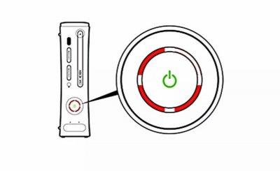 Светится красным кольцо (светодиод) на Xbox 360