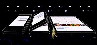 Samsung демонстрирует складной смартфон Infinity Flex