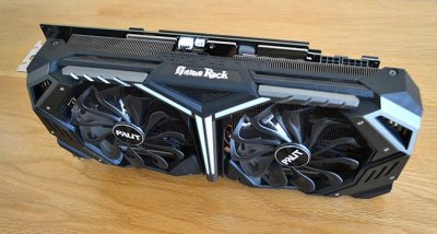 Обзор видеокарты Palit GeForce RTX 2070 GameRock Premium