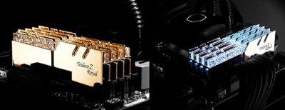 G.Skill выпускает RAM Trident Z Royal серии DDR4 RGB