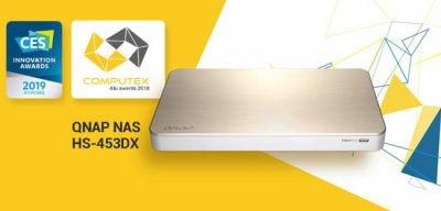 Qnap выпускает бесшумный мультимедийный NAS HS-453DX
