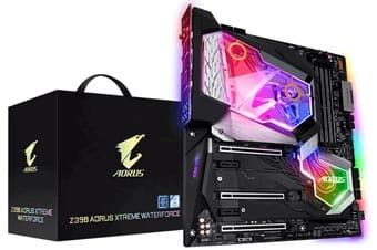 Обзор Gigabyte Z390 Aorus Xtreme Waterforce