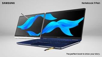 Samsung анонсировал ноутбуки Notebook 9 Pen Premium 2-в-1