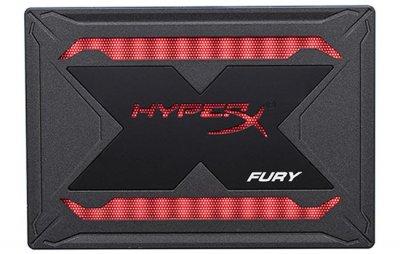 Обзор накопителя SSD HyperX Fury с RGB (480 ГБ)