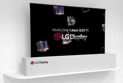LG выпустит складной 65-дюймовый телевизор к 2019 году
