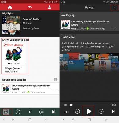 Как слушать подкасты iTunes на Андроид