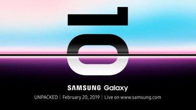 Появились картинки Samsung Galaxy S10, S10E и S10 +