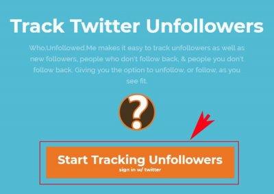 Как узнать, кто (unfollowers) отписался в Твиттере