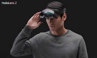 Microsoft гарнитура HoloLens 2 повышает разрешение и поле зрения