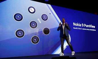 Вышел Nokia 9 PureView с пятью массивами камер Zeiss